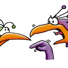 CWC Arguing Birds