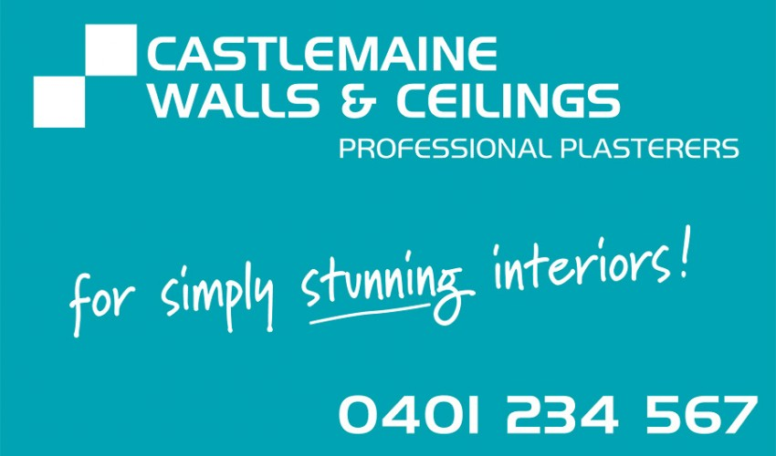 Castlemaine Walls & Ceilings- Business Card
